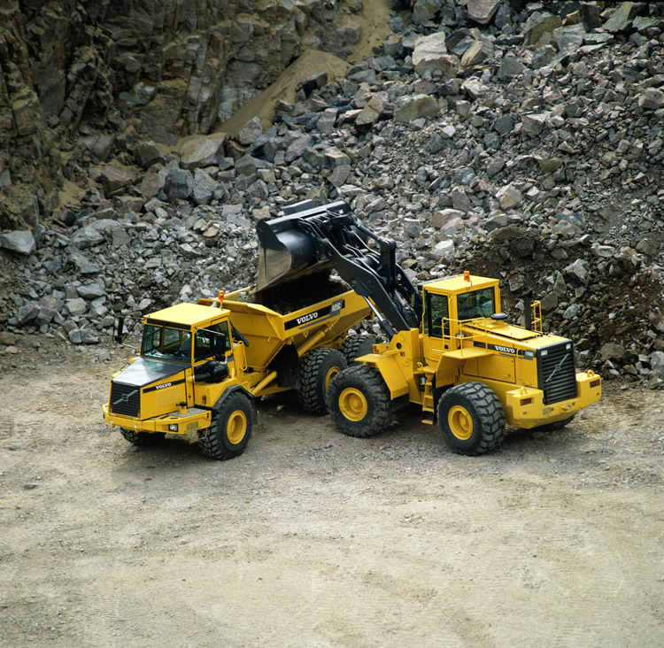 Volvo mining